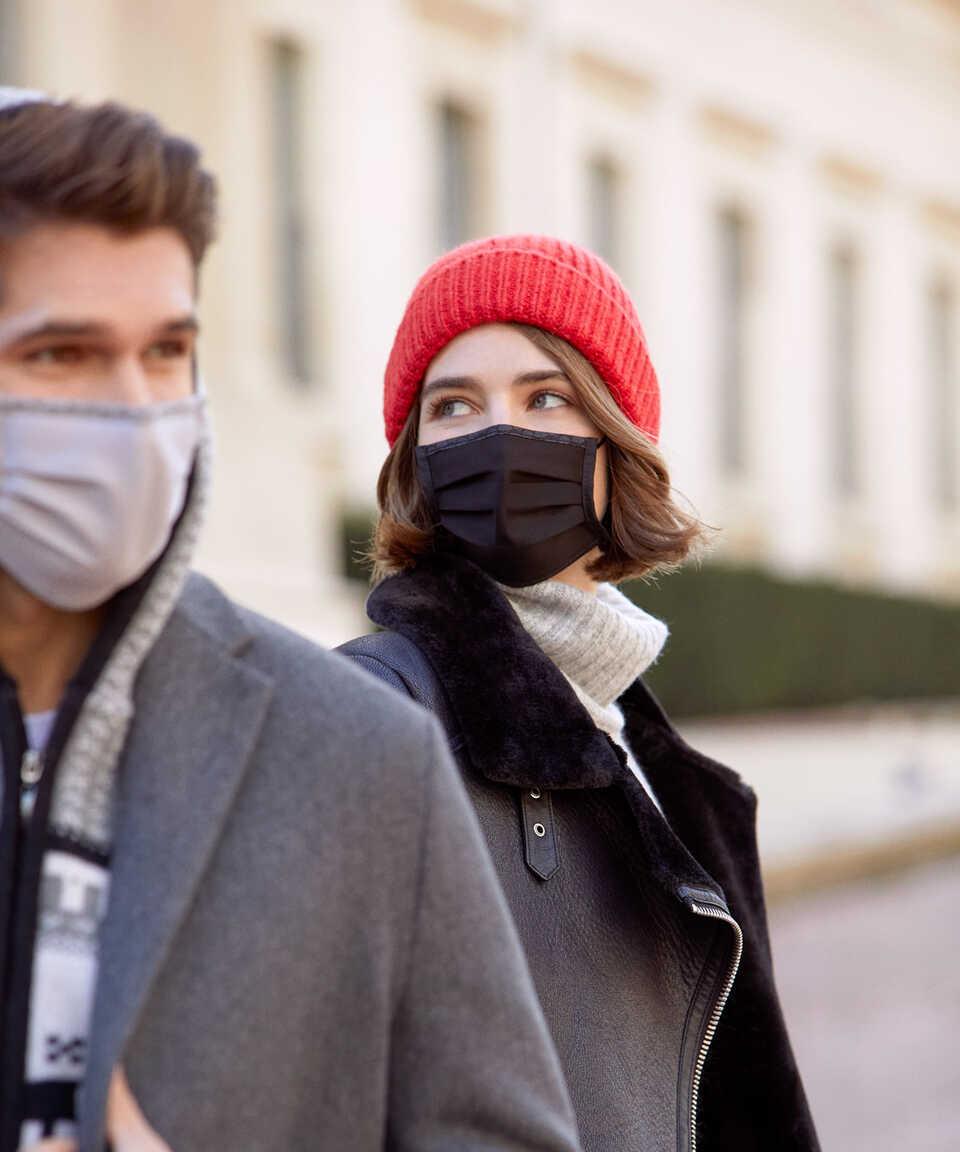 5 li Maisonette Yıkanabilir Pamuklu Yüz Maskesi Rengarenk