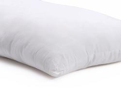 Maisonette Elyaf Yastık 40x70 cm Beyaz - Thumbnail