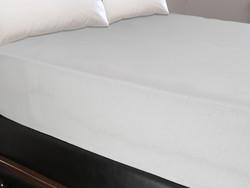 Maisonette Lastikli Çarşaf Beyaz 160x200 cm - Thumbnail