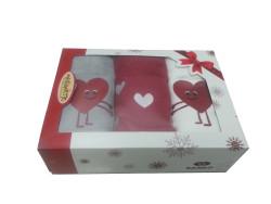 Maisonette Sevgililer Günü Havlu Seti-3 - Thumbnail