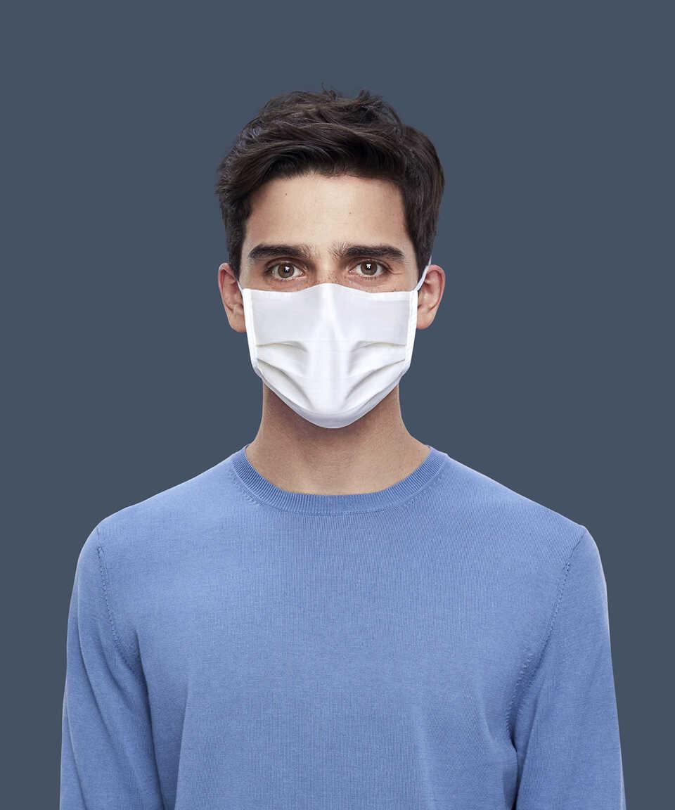 Maisonette Yıkanabilir Pamuklu Yüz Maskesi 5 li Paket