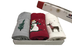 Maisonette Yılbaşı Havlu Seti 45x70 cm - Thumbnail