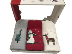 Maisonette Yılbaşı Havlu Seti - Thumbnail