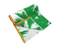 MSN Palmiye Kadife Plaj Havlusu 90X170 cm - Thumbnail